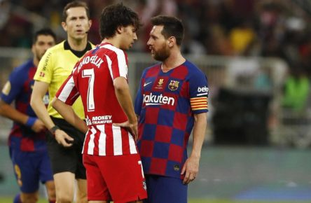 Atleti-Barça Joao Félix Messi