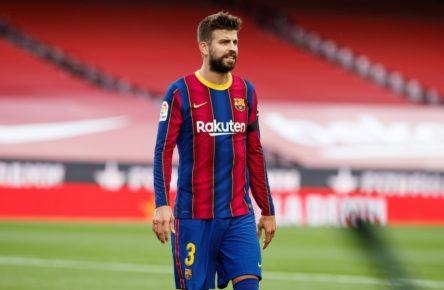 Gerard Piqué Barça defensa