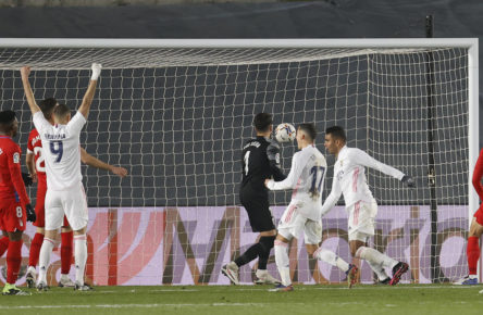Gol Real Madrid goles asistencias