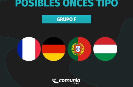 selecciones Grupo F